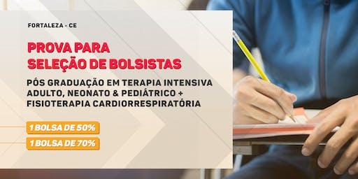 Prova de Seleção para Bolsa - Pós Graduação em Terapia Intensiva Adulto, Neonato & Pediátrico + Fisioterapia Cardiorrespiratória - Turma 3