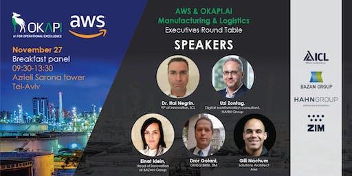 AWS & OKAPI.AI - Manufacturing & Logistics Executive Round Table