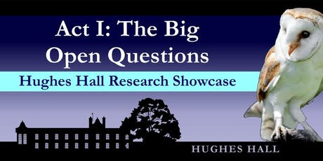 Hughes Hall Research Showcase tickets