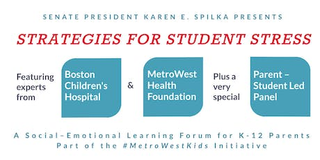 Strategies for Student Stress // An SEL Forum for K-12 Parents tickets