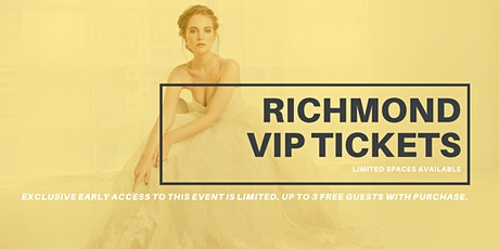 Opportunity Bridal VIP Early Access Richmond Pop Up Wedding Dress Sale tickets