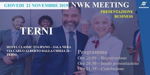 Presentazione Business Meeting NeWorKom