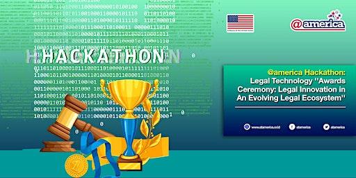@america Hackathon: Legal Technology Awards Ceremony