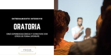 Entrenamiento intensivo en oratoria y presentaciones efectivas - CABA entradas