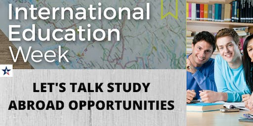 Let's Talk Study Abroad Opportunities