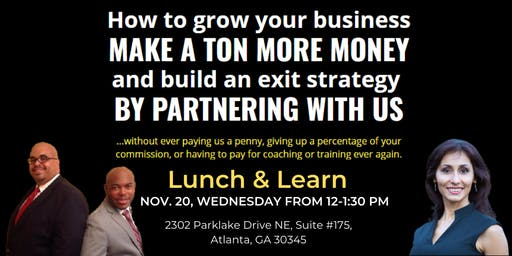 Lunch and Learn on November 20, 2019
