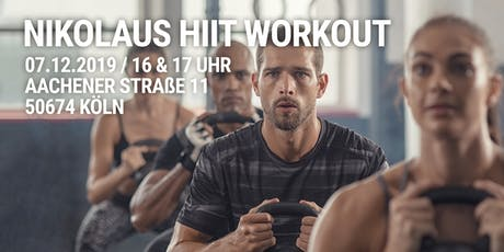 Community Nikolaus HIIT Workout Tickets