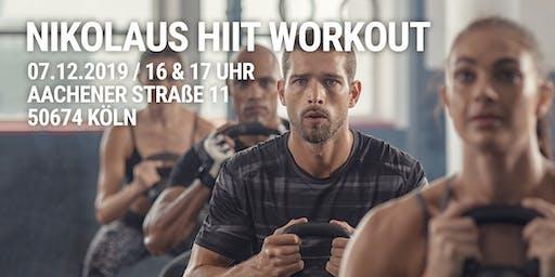 Community Nikolaus HIIT Workout