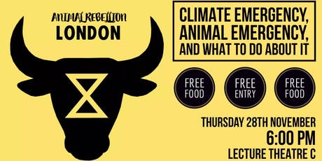 London: Climate Urgency, Animal Emergency & What To Do About It tickets