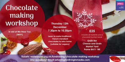 Christmas Chocolate Making Workshop for WHY