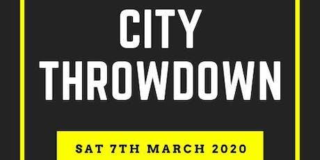 City throwdown tickets