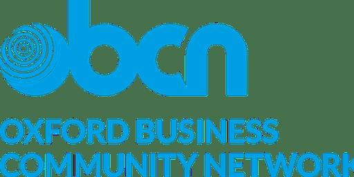 Oxford Business Community Network - Breakfast 3rd January 2020