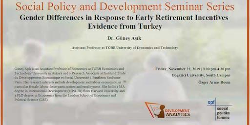 Social Policy and Development Seminar Series