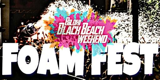 Black Beach Foam Fest
