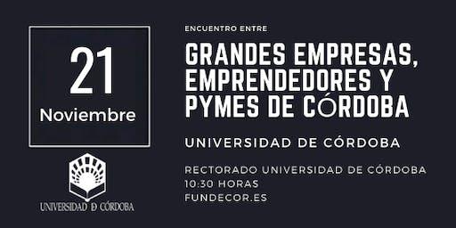 Encuentro entre Grandes Empresas, Emprendedores y PYMES de Córdoba