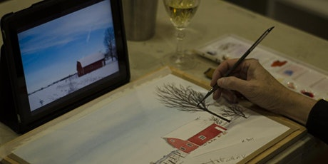 Watercolour & Wine tickets