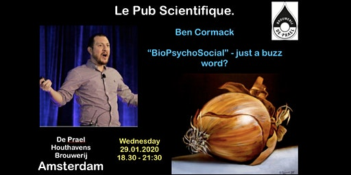 Le Pub Scientifique NL #13 Ben Cormack