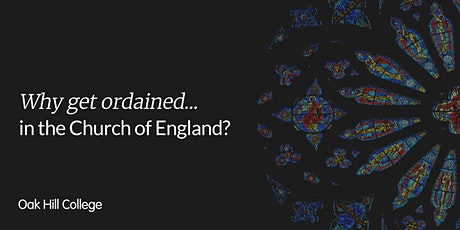 Why get ordained...in the Church of England? tickets