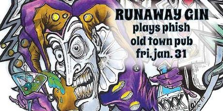 Runaway Gin plays Phish tickets