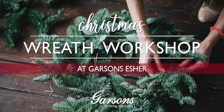 Garsons Christmas Wreath Workshop tickets