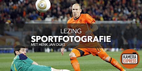 Lezing Sportfotografie met Henk Jan Dijks tickets