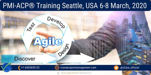 Agile Project Management | Training | PMI ACP | Seattle | March | 2020