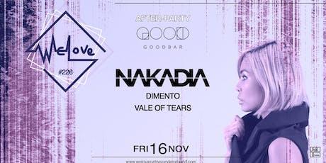 WeLove Nakadia // After Party at Goodbar tickets