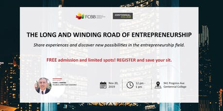 The Long and Winding Road of Entrepreneurship tickets