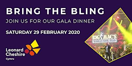 Leonard Cheshire Cymru's Gala dinner tickets