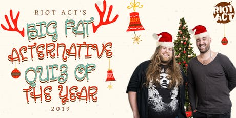Riot Act's Big Fat Alternative Quiz of the Year #2 tickets
