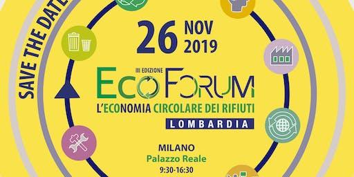 Ecoforum: l'economia circolare dei rifiuti in Lombardia