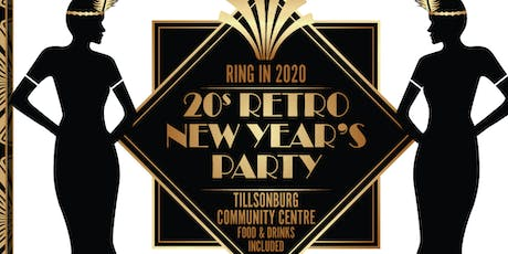Tillsonburg New Year's Eve 20s Gala Party tickets