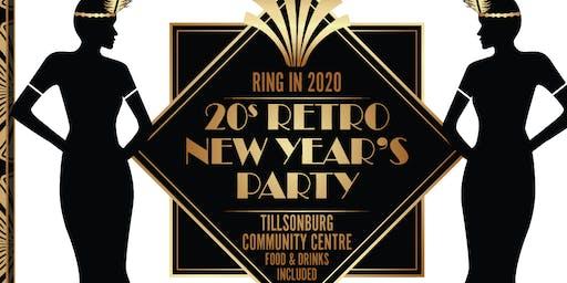 Tillsonburg New Year's Eve 20s Gala Party