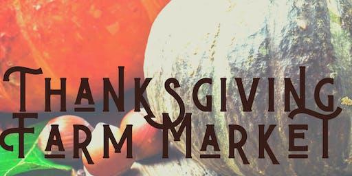 Thanksgiving Farm Stand