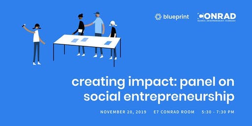 Creating Impact: Panel on Social Entrepreneurship