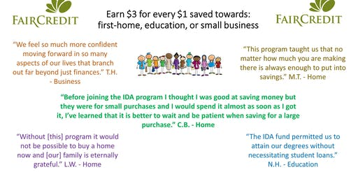 Wise Use of Credit & Consumer Education for IDA applicants