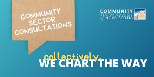 Community Sector Consultations - VALLEY Region