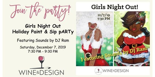 Wine & Design Franklin - Girls Night Out Paint & Sip pARTy