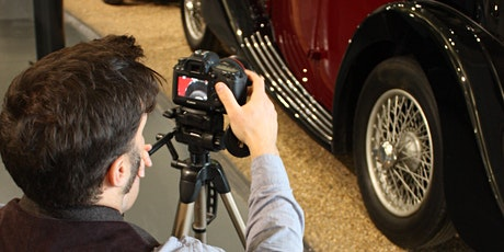 'Lights, Camera…Cars' Photography Workshop - Spring tickets