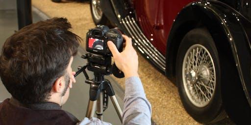 'Lights, Camera…Cars' Photography Workshop - Spring
