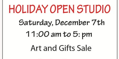 HOLIDAY GIFT SALE AT THE ART GARAGE OPEN STUDIOS!
