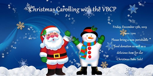 Christmas Carolling with the VBCP