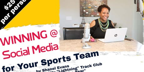 Winning @ Social Media for Your Sports Team tickets
