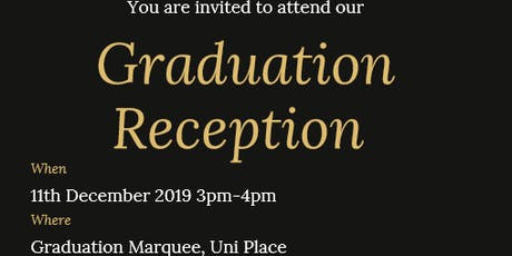 PGT Graduation Reception tickets