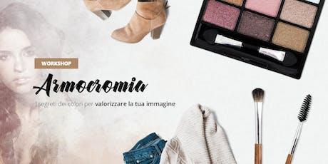 Armocromia: i segreti dei colori per valorizzare la tua immagine biglietti