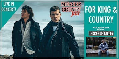 for KING & COUNTRY at Mercer County Fair