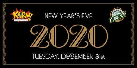 New Years Eve 2020 at Kapow & Dubliner Mizner Park tickets