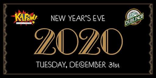 New Years Eve 2020 at Kapow & Dubliner Mizner Park
