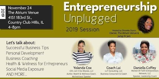 Entrepreneurship Unplugged....2019