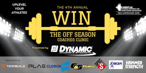 Win The Off Season Clinic 2019